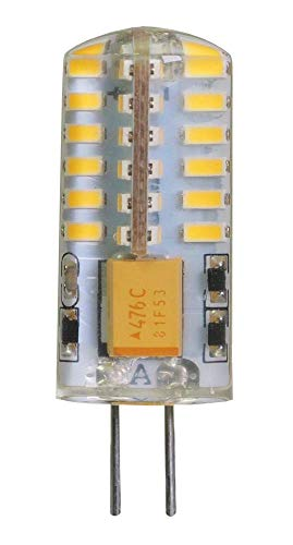 ECOBELLE 10 x Lampadine LED G4 2.5W 250 Lumen 12V AC/DC Bianco neutro 4000k Dimensioni ridotte: 13 x 38 mm (lampadina non dimmerabile)