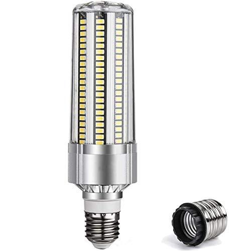 NCC-Licht - Lampadina a LED e27, 25 W, 250 W, con attacco E40, 2750 lm, luce bianca fredda, 6500 K, angolo di irradiazione 360°, a risparmio energetico, bianco freddo, E27, 54.00W, 230.00V