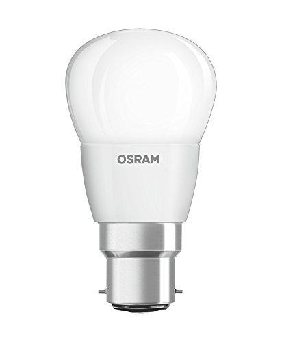 Osram 810228 Lampadina LED B22d, 4.5 W, Bianco, Set da 6, 6 unità