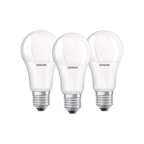 Osram Base CLAS a Lampada LED E27, 13 W, Luce Calda, 3 Lamp