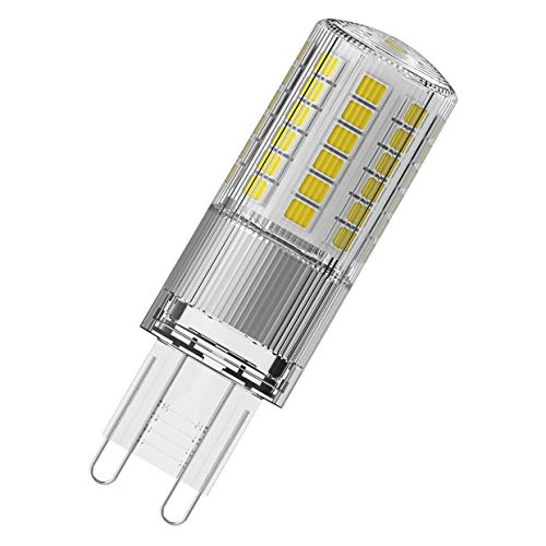 OSRAM Capsula Lampadine LED, 4.8 W Equivalenti 48 W, Attacco G9, Luce Naturale 4000K, Confezione da 9 Pezzi