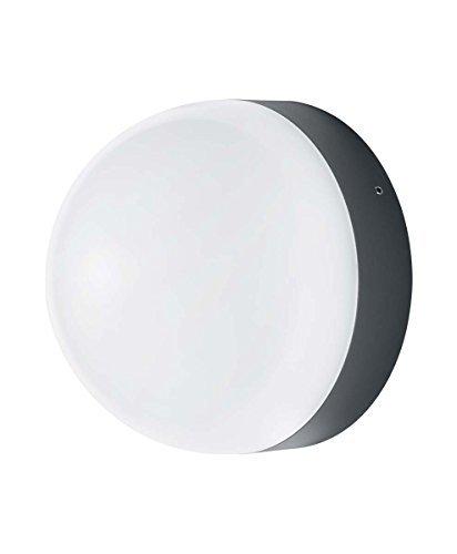 Osram Endura Style Ball Applique/Plafoniera LED per Esterni con Sensore Crepuscolare e di Movimento 12 W, Grigio