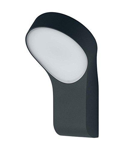 Osram Endura Style Wall Round Applique LED per Esterni 8 W, Grigio, Standard