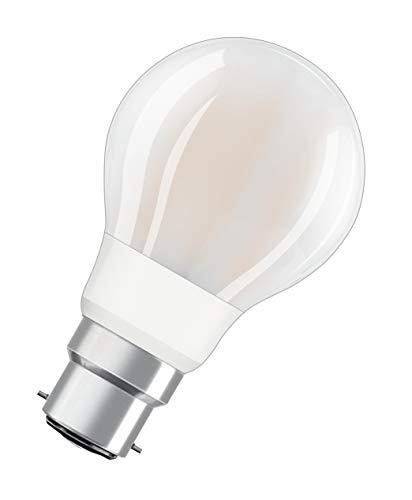 OSRAM Goccia Lampadine LED, 12 W Equivalenti 100 W, Attacco B22d, Luce Calda 2700K, Confezione da 10 Pezzi