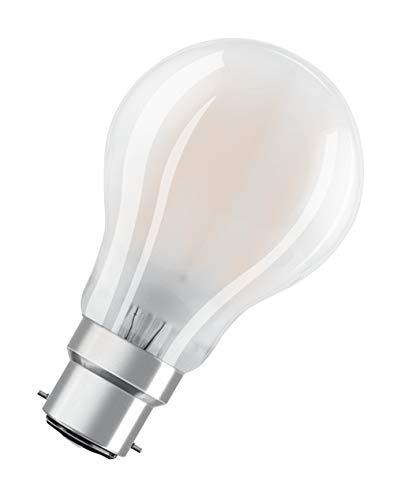 OSRAM Goccia Lampadine LED, 7 W Equivalenti 60 W, Attacco B22d, Luce Calda 2700K, Confezione da 10 Pezzi