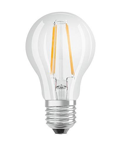 OSRAM LED DAYLIGHT SENSOR CLASSIC A Pacco da 10 x Lampadina LED, Attacco: B22d, Bianca Calda, 2700 K, 5 W, Equivalenti a 40 W, LED Retrofit CLASSIC B DIM, Chiaro, Taglia Unica