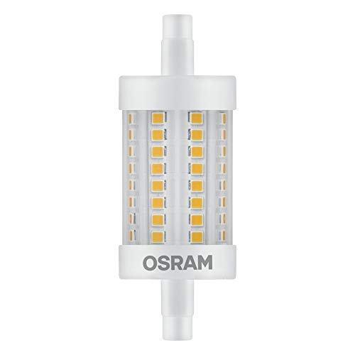 OSRAM LED LINE R7S DIM Confezione da 10 x LED PIN G9, Lampada LED: G9, 4.80 W = Equivalente a 48 W, Bianco Freddo, 4000 K, Chiaro, Taglia Unica