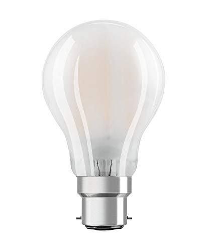 OSRAM LED Retrofit CLASSIC A DIM Pacco da 10 x Lampadina LED, Attacco: B22d, Bianca Calda, 2700 K, 7 W, Equivalenti a 60 W, LED Retrofit CLASSIC A DIM, Opaco, Taglia Unica