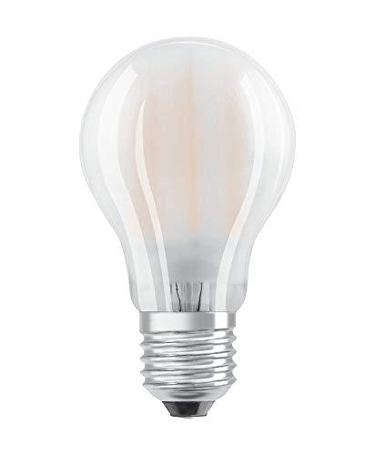 OSRAM LED Retrofit CLASSIC A Pacco da 10 x Lampadina LED, Attacco: B22d, Bianca Fredda, 4000 K, 8.50 W, Equivalenti a 60 W, LED BASE CLASSIC A, Opaco, Taglia Unica