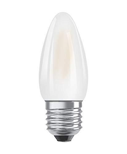 OSRAM LED Retrofit CLASSIC B DIM Pacco da 10 x Lampadina LED, Attacco: B22d, Bianca Calda, 2700 K, 9 W, Equivalenti a 75 W, LED Retrofit CLASSIC A DIM, Opaco, Taglia Unica