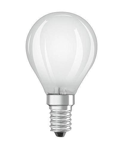 OSRAM LED Retrofit CLASSIC P DIM Pacco da 10 x Lampadina LED, Attacco: B22d, Bianca Calda, 2700 K, 5 W, Equivalenti a 40 W, LED Retrofit CLASSIC P DIM, Opaco, Taglia Unica
