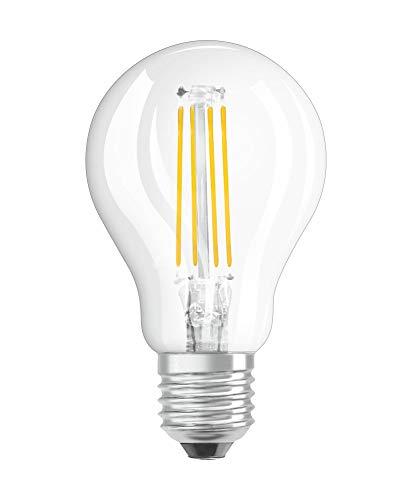 OSRAM LED Retrofit CLASSIC P Pacco da 10 x Lampadina LED, Attacco: B22d, Bianca Calda, 2700 K, 4 W, Equivalenti a 40 W, LED Retrofit CLASSIC P, Chiaro, Taglia Unica
