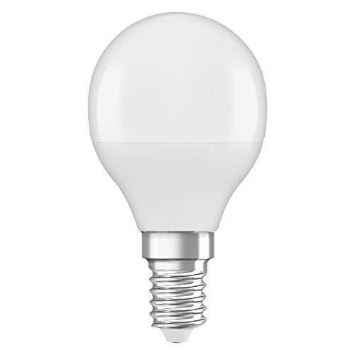 OSRAM LED STAR CLASSIC P Pacco da 4 x Lampadina LED, Attacco: B22d, Bianca Calda, 2700 K, 2.50 W, Equivalenti a 25 W, LED Retrofit CLASSIC B, Opaco, Taglia Unica