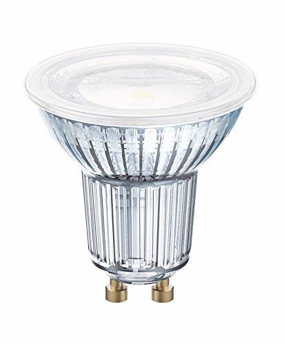 Osram LED Star Full Glass Par16 120° CW Gu10 Bli, 50 W, Luce Neutra 4000K, Confezione da 10, unità