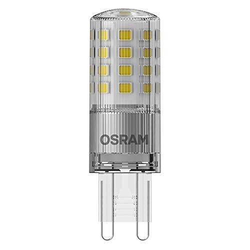 OSRAM LED THREE STEP DIM PIN G9 Confezione da 10 x LED PIN G9 DIM, Lampada LED: G9, Dimmerabile, 4.40 W = Equivalente a 40 W, Bianco Caldo, 2700 K, Chiaro, Taglia Unica