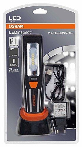 OSRAM LEDIL207 LEDinspect Professional 150 Lampada da Lavoro a LED Ricaricabile