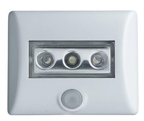 Osram Nightlux Apparecchio di Illuminazione Portatile LED 0.3 W, Bianco, Confezione da 6, 6 unità