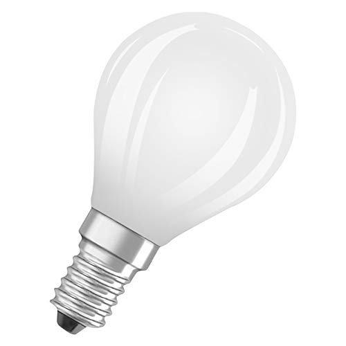 OSRAM Sfera Lampadine LED, 6.5 W Equivalenti 60 W, Attacco E14, Luce Calda 2700K, Confezione da 10 Pezzi