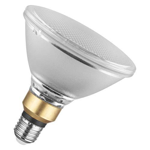 OSRAM Spot PAR38 Lampadina LED, 12.5 W Equivalenti 120 W, Attacco E27, Luce Calda 2700K, Confezione da 1 Pezzo