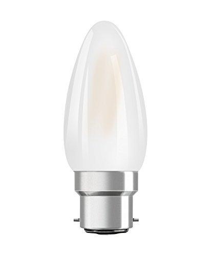 Osram ST CLAS B Lampada LED B22d, 4 W, Luce calda, 1 Lamp