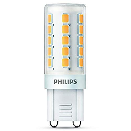 Philips Lighting Lampadina LED G9, 3,2 W equivalenti a 40 W a incandescenza, 3000 K, 400 lumen