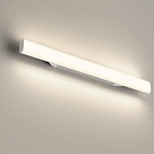 12W 1200lm 44cm LED lampada da specchio, per trucco, Bianco neutro 4000 K, Lampada Bagno Specchio,Applique Bagno Lampda Bagno Specchio 85V~260V