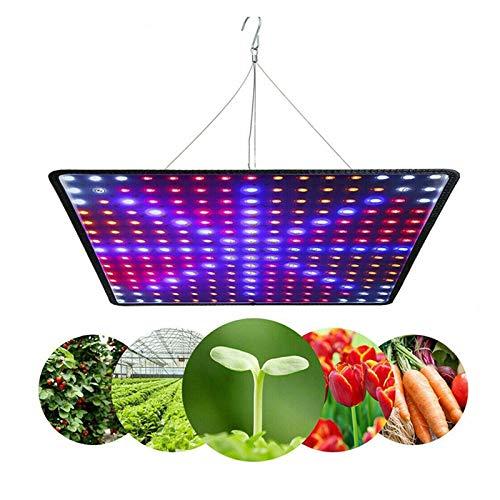 45W luce coltivazione spettro completo, lampada per la crescita delle piante a spettro completo da 225 LED, per germinazione di piante da interno, piantine, verdure e fiori