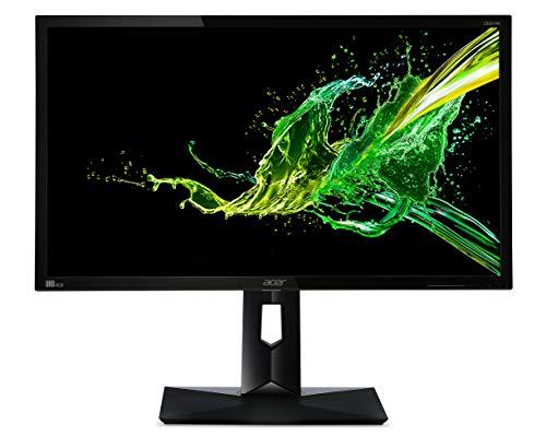 """Acer CB281HKBMIIPRX Monitor FreeSync da 28"""", Display 4K Ultra HD (3840x2160), 60 Hz, Luminosità 300 cd/m2, 1 ms, 2 x HDMI, DP, Audio Out, Speaker Integrati, Regolazione in Altezza, Pivot, Nero"""