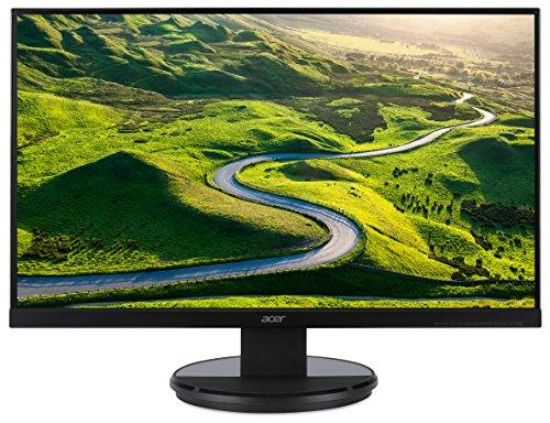"""Acer K272HLEbd Monitor da 27"""", Display Full HD (1920x1080), Frequenza 60 Hz, Contrasto 100M:1, Luminosità 300 cd/m², Tempo di Risposta 4 ms, VGA, DVI (w/HDCP), Nero"""