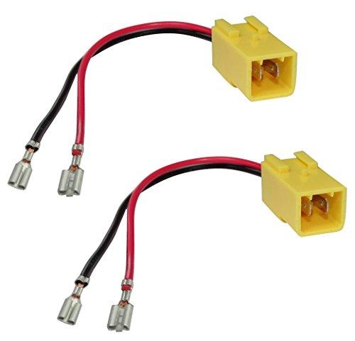 AERZETIX - Coppia di - Connettori adattatori - Per altoparlanti con cavi - C4333