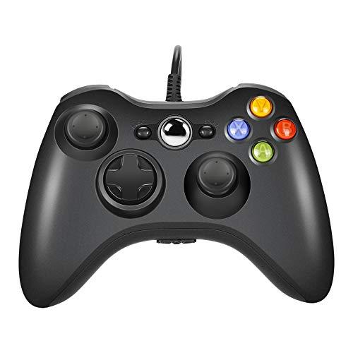 AlBetter Xbox 360 Controller con cavo USB e design ergonomico migliorato per Windows/Slim/PC