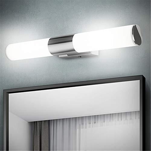 Albrillo Luce Led da Specchio 42cm - 12W 1000 Lumen Lampada da Parete per Bagno, Luce Bianca Fredda 6000K, Impermeabile IP44, Senza Sfarfallio, Super luminoso, per Bagno