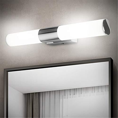 Albrillo Luce LED da Specchio 42cm- 12W 1000 Lumen Lampada da Parete per Bagno, Luce Bianca Naturale 4000K, Impermeabile IP44, Senza Sfarfallio, Super luminoso, per Bagno, Armadio
