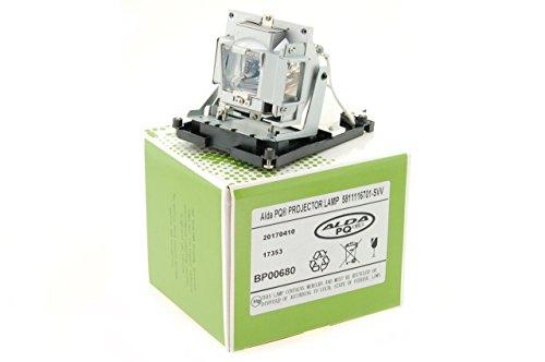 Alda PQ-Premium, Lampada proiettore compatibile con 5811116701-SVV, DE.5811116701 per OPTOMA DH1015, DH1016, EH2060, EX784, EX799P VIVITEK D-963HD, D-965 Proiettori, lampada con modulo