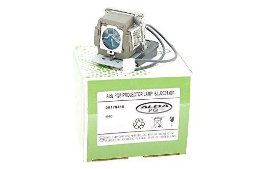 Alda PQ-Premium, Lampada proiettore compatibile con 5J.J2C01.001 per BENQ MP611, MP611C, MP620C, MP711, MP711C, MP721, MP721C, MP725X, MP726 Proiettori, lampada con modulo