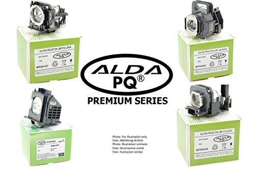 Alda PQ-Premium, Lampada proiettore compatibile con BL-FP230G, SP.8JQ01GC01, NP19LP per OPTOMA TX565UT-3D, TX565UTI-3D Proiettori, lampada con modulo
