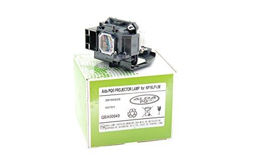 Alda PQ-Premium, Lampada proiettore compatibile con NP16LP-UM, 100013229 per NEC UM280W, UM280WI, UM280X, UM280XI Proiettori, lampada con modulo