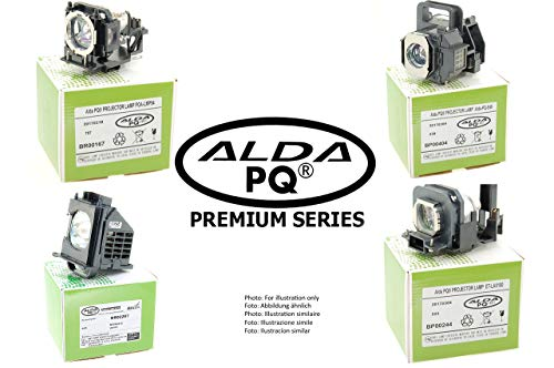 Alda PQ-Premium, Lampada proiettore compatibile con SP.72109GC01, BL-FU365A per OPTOMA EH515, EH515T, W515, W515T, WU515, WU515T, X515 Proiettori, lampada con modulo