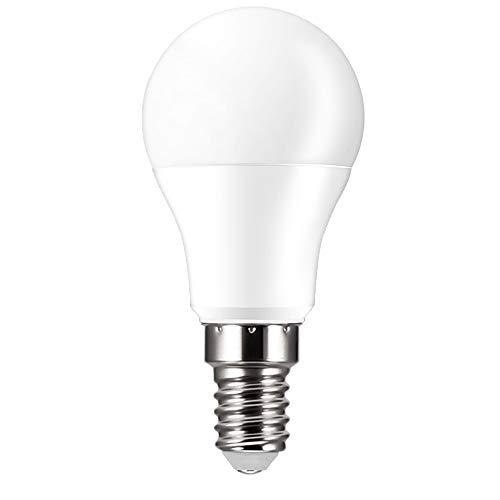 ALLOMN Inteligente Luce lampadine, 15W E27/B22/E14 Lampadine Dimmerabili WiFi Lavora con Alexa Google Home, Controllo Vocale, Funzione di Temporizzazione 1200LM (E14 Bianco Caldo, 1PCS)