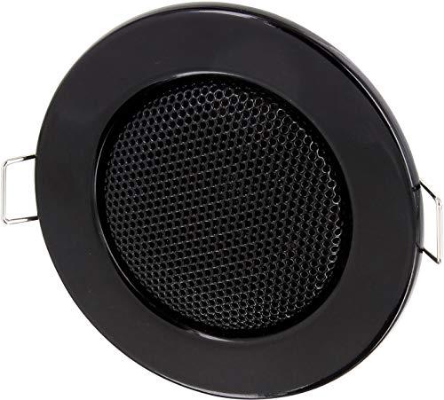 Altoparlante da incasso interamente in metallo da 3W, diametro da 60mm, diametro interno da 80mm, morsetto di montaggio,bassa resistenza, per pareti e soffitti, cartongesso, telefoni cellulari, di colore nero