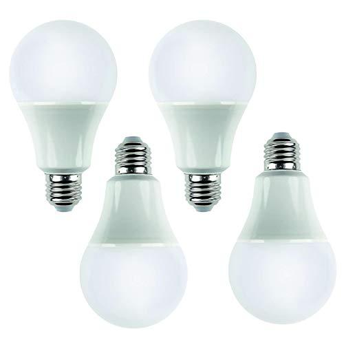 Andrestart Innovation - Lampadine Led e27 luce naturale, 12W (Equivalente a 100W Alogene) - Attacco E27 Luce Bianca Calda 3000K - Non Dimmerabile - Pacco da 4 - Lampadine Risparmio Energetico