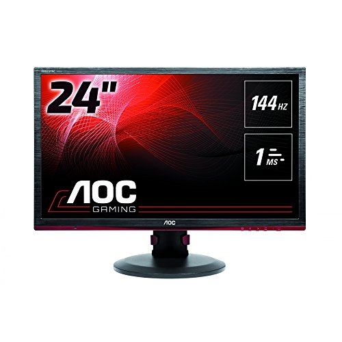 "AOC G2460PF Monitor Gaming da 24"", FHD, 1920x1080, 144Hz, 1 msec, Speaker, D-Sub, HDMI, DP, 4 Porte USB, Nero"