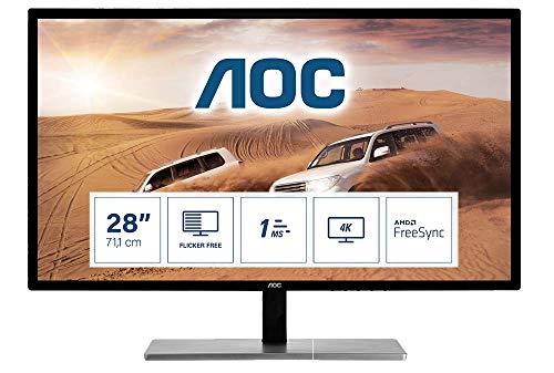 "AOC Monitor Italia,""AOC U2879VF LCD Monitor da 28"""""""