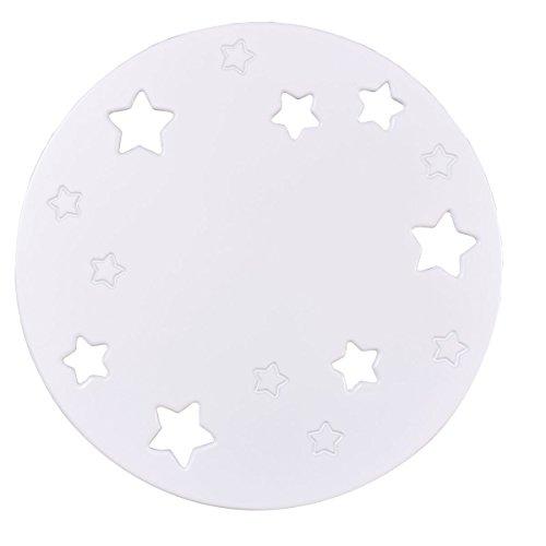 Applique da parete Luna Bianca