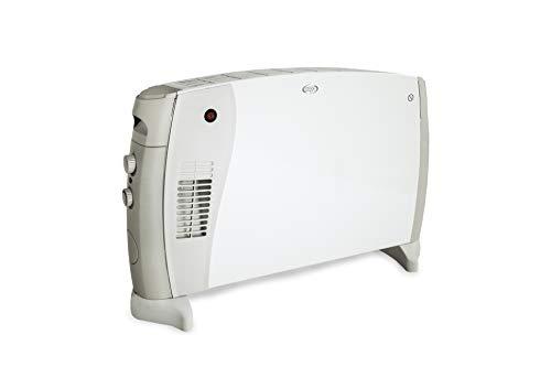 ARGO HIFLOORDESIGNTURBO Termoconvettore, 750 W, Bianco