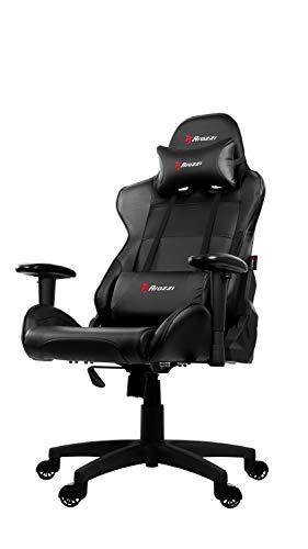 Arozzi - Verona V2 sedia da Gaming, Nero, 50 x 55 x 130