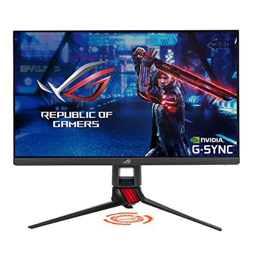 "ASUS ROG Strix XG279Q HDR Monitor Gaming – 27"" WQHD (2560 x 1440), Fast IPS, Overclockable 170Hz, 1ms (GTG), ELMB SYNC, G-SYNC Compatible, DisplayHDR™ 400"
