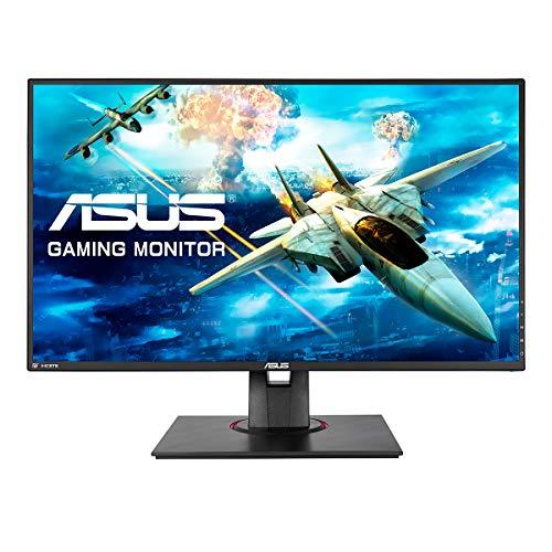 ASUS VG278QF - Monitor da 68,65 cm (27 pollici), Full HD, tempo di risposta 0,5 ms, FreeSync, HDMI, DisplayPort, 165 Hz, colore: Nero