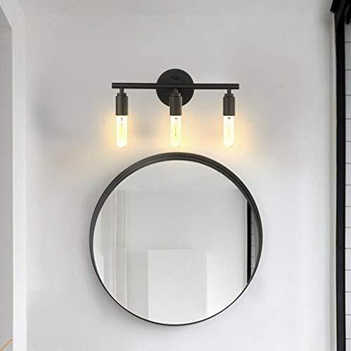 Atyhao Lampada da Specchio, innovativa Lampada da Parete Industriale Vintage E26 a Specchio per Cucina Bagno specchiera