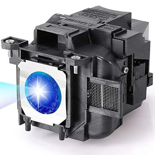 AuKing Lampada per Proiettore per Epson ELPLP78 EB-S03 EH-TW5200 EH-TW5100 EH-TW490 EH-TW570 EB-S04 EB-S17 EB-S27 EB-W03 EB-W28 EX3220 EX3240 EX5220 EX5240 EX9200 VS230 VS240 VS330 Videoproiettore